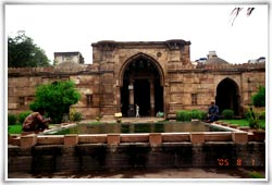Sultan Ahmed Shah Mosque Ahmedabad