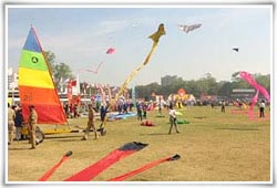 International Kite Festival, Ahmedabad