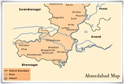 Ahmedabad Map Map of Ahmedabad City Ahmedabad India Maps