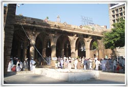 Sidi Sayed Mosque in Ahmedabad