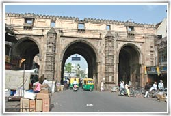 Teen Darwaza in Ahmedabad